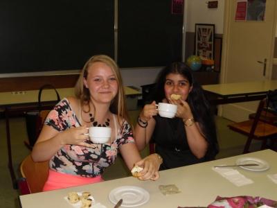 Afternoon Tea in 4HT