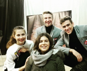 The English Theatre Company op bezoek